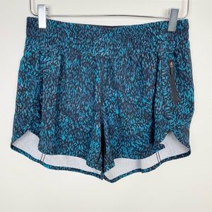 LULULEMON Printed Running Shorts 12 Workout Active